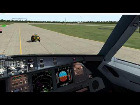 EDDM-LOWW flight with X-Life traffic plugin (Win & Mac)