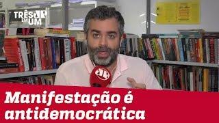 #CarlosAndreazza: Dia 26 é manifestação oficial pró-governo