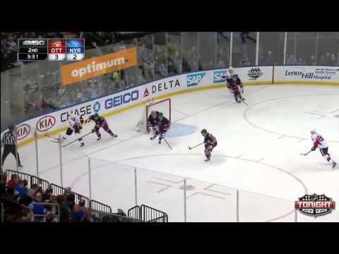 Ottawa Senators at New York Rangers   04\05\2014
