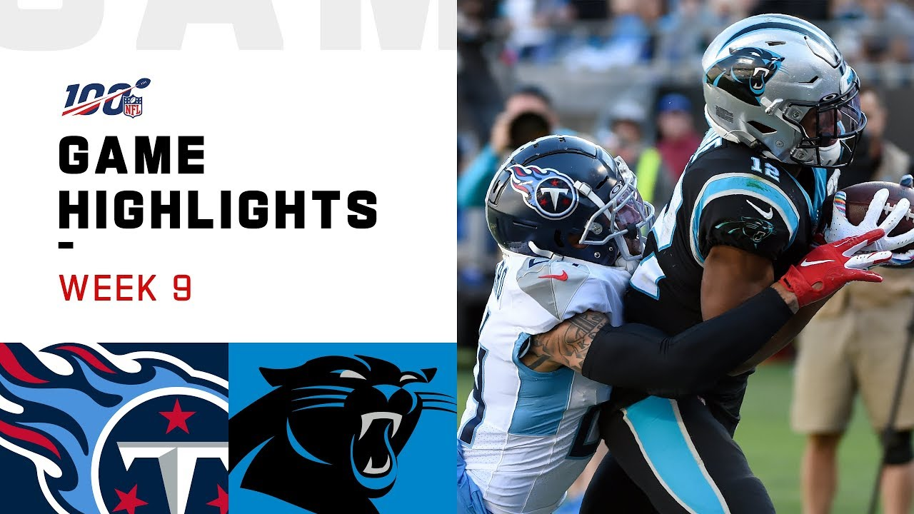 Game Notes: Titans vs. Panthers