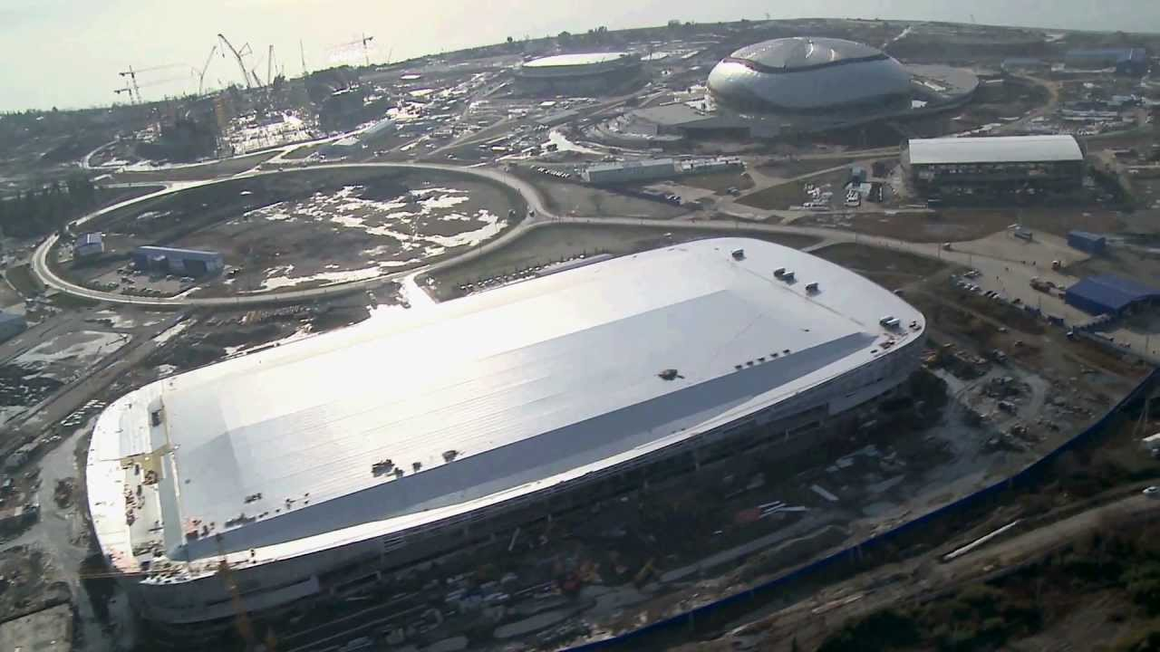 Стадионы СОЧИ 2014 SOCHI 2014 Venues - YouTube