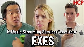 If Music Streaming Services Were Your Exes (Spotify vs. Apple Music)