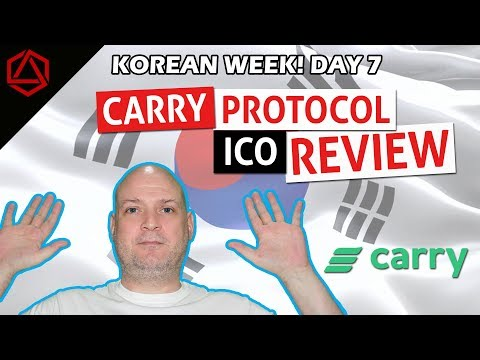 CARRY PROTOCOL ICO Review! Asia's #1 Loyalty Program on the Blockchain!