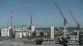 Time-lapse of Manchester skyline - Filmed on July 2019