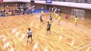 平成24年第21回JOCジュニアオリンピックカップハンドボール大会 香川VS岩手(男子予選リーグ)
