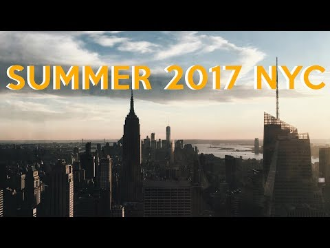 6 BEST THINGS TO DO IN NEW YORK CITY IN SUMMER! 2017 Tour