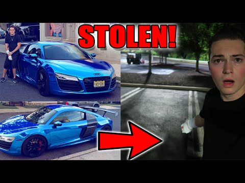 SOMEONE STOLE MY CAR!! AUDI R8 V10 - SUPERCAR