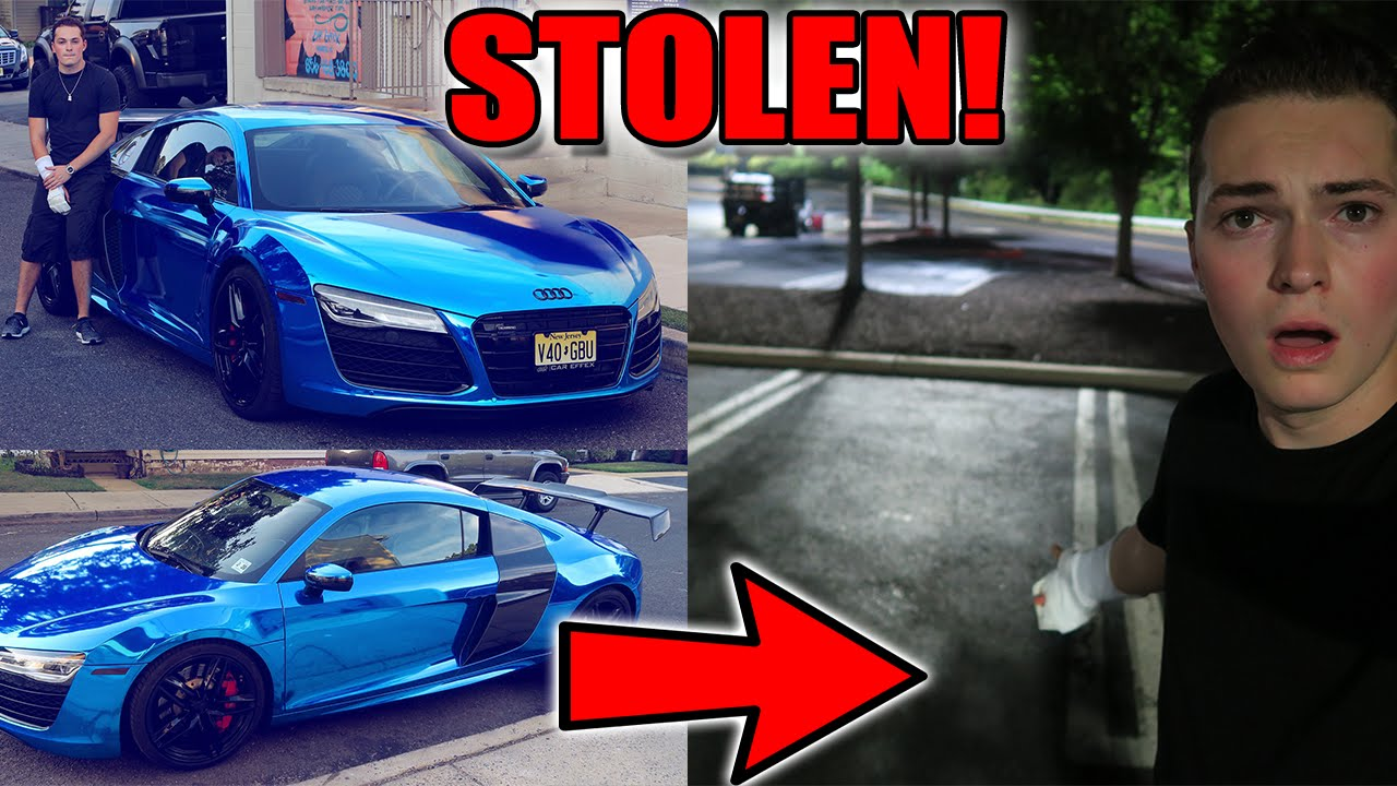 SOMEONE STOLE MY CAR!! AUDI R8 V10 - SUPERCAR - YouTube