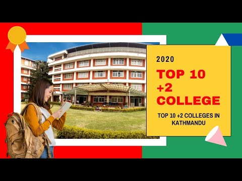 Top 10 +2 Colleges of Kathmandu, Nepal.