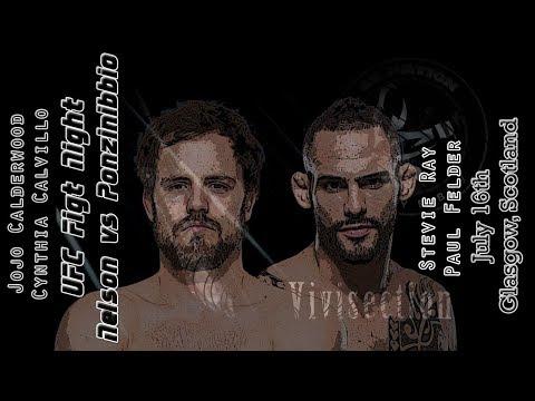 The MMA Vivisection - UFC Glasgow: Nelson vs. Ponzinibbio picks, odds, & analysis