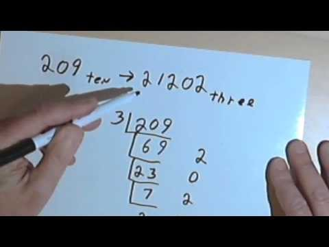 Converting Numbers from Base-10 to other Bases127-1.13a