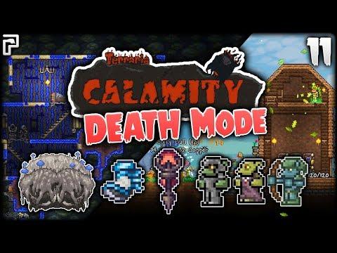 Goblins & The Crabulon ENDURANCE Fight! | Terraria Calamity Mod Death Mode Let's Play [Episode 11]