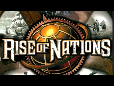 Rise Of Nations - 4 vs 4 - Industrial Age Attack Delay