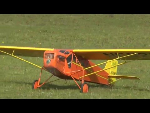 Curtiss Robin B-1, collaudo / Maiden flight