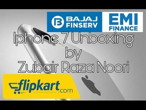 Iphone 7 Silver 32gb unboxing | Flipkart | Bajaj Finserv No interest on EMI | Reliance Jio