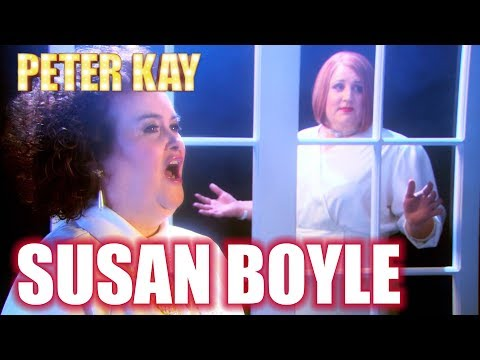 Geraldine Feat. Susan Boyle 'I Know Him So Well'   Peter Kay