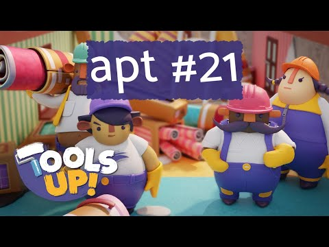 Tools Up! Apt #21 (2 players co-op) - Home Renovation Gameplay