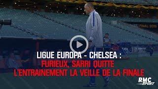 Chelsea : Enervé par ses joueurs, Sarri quitte l'entraînement