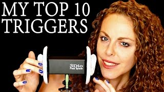 😀Top 10 ASMR Triggers For Sleep & Relaxing