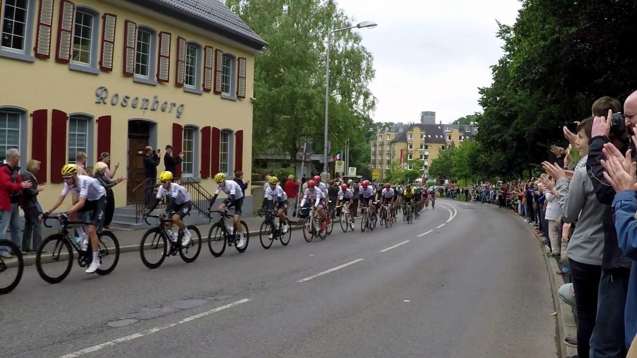 Tour De France 2017 2 Etappe Durch Erkrath Youtube