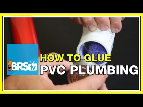 How to glue PVC plumbing | BRStv How-To