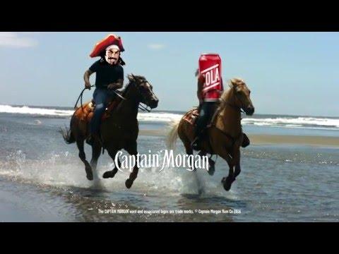 When Captain Meets Cola | Captain Morgan
