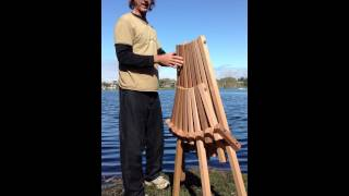 Cedar Magic Deck Chair