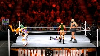 WWE 2k15 (PS3) 30 CAW Women / Divas Royal Rumble