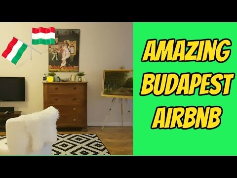 Beautiful AirBnb in Central Budapest | My apartment near the Danube🇭🇺