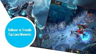 Top Volibear vs Trundle League Of Legends: Top Lane #1