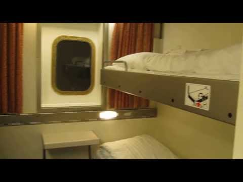 Mini Cruise DFDS Princess Seaways Ferry Newcastle Amsterdam - DFDS Princess Outside Cabin