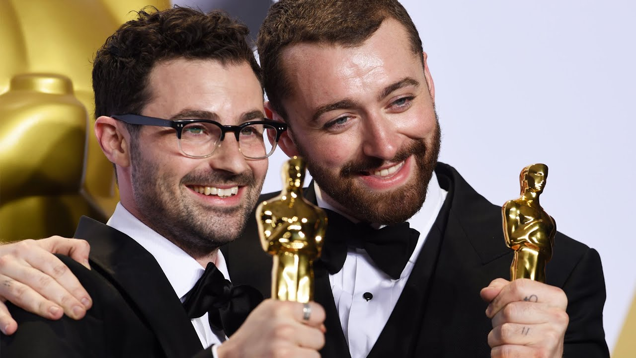 sam smith and jimmy napes - oscars