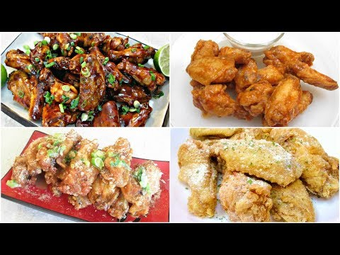 PMGK's Top 5 Chicken Wing Recipes - PoorMansGourmet