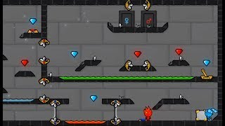 Fire  Boy And Water Girl 5: Elements Walkthrough Cool Math Games