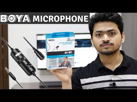 BOYA BY-M1 Lavalier Microphone Unboxing | For Smartphones DSLR | Tech Unboxing 🔥