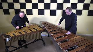 """Effugonetrom"" by Max Leth - Performed by Quey Percussion Duo"