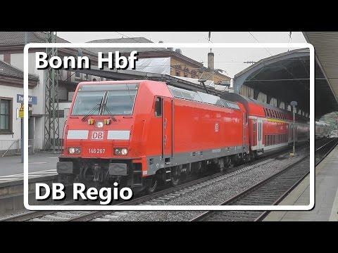 DB Regio vertrekt uit station Bonn Hbf!