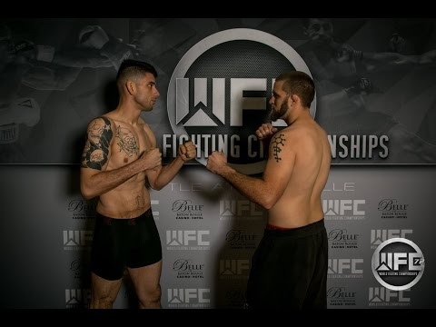 WFC 72| Robert Dunn Vs James Montano May 13th, 2017 Belle of Baton Rouge