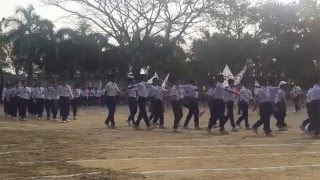 bcic school annual sports 2016 march past 1