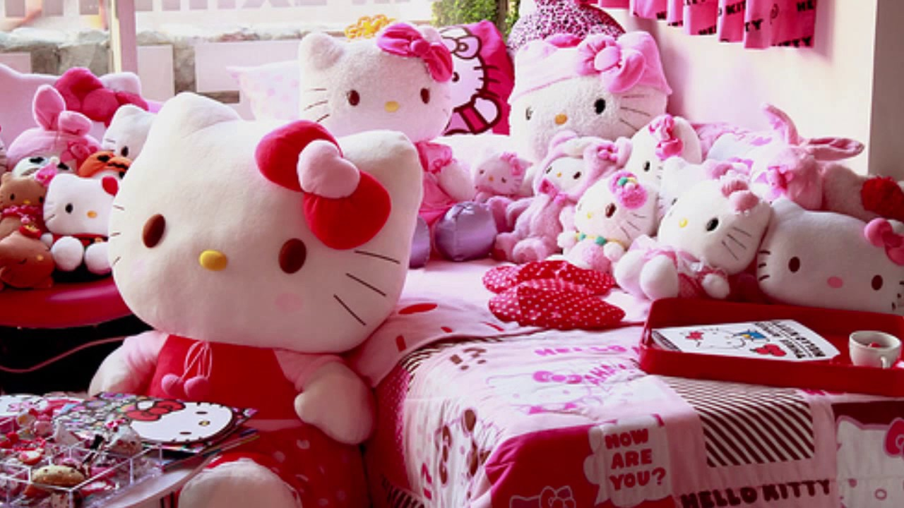 Desain Kamar Tidur Nuansa Hello Kitty Kumpulan Desain Rumah