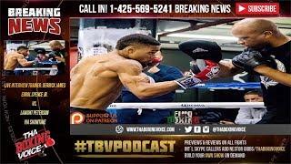 Derrick James Joins TBV-Errol Spence Jr vs Lamont Peterson & Jermell Charlo News thumbnail