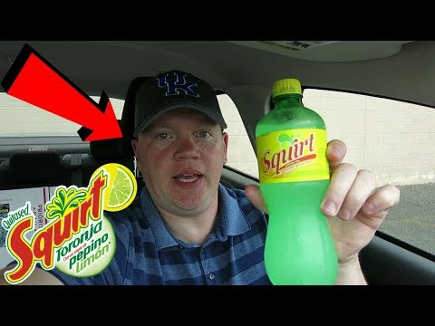 Reed Reviews Squirt Soda