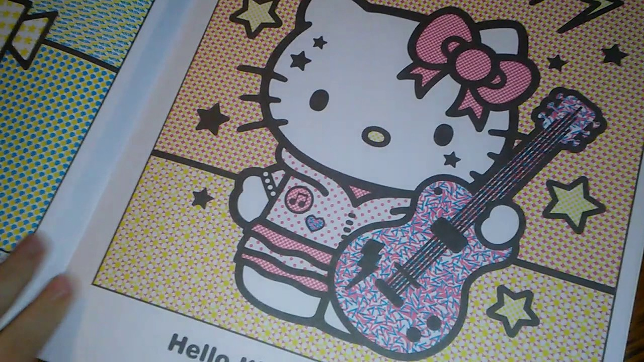 The Unboxing Box Emoji Color Fun  Hello Kitty Paint w Water