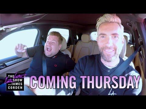 Coming Thursday: Adam Levine Carpool Karaoke