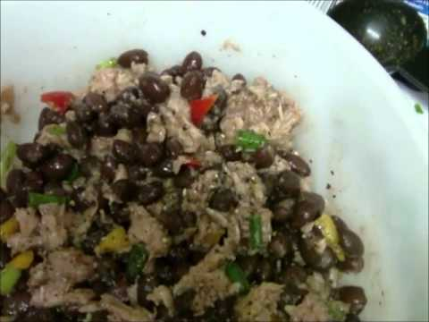 Tuna Black Bean Salad