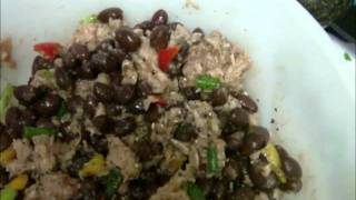Tuna Black Bean Salad
