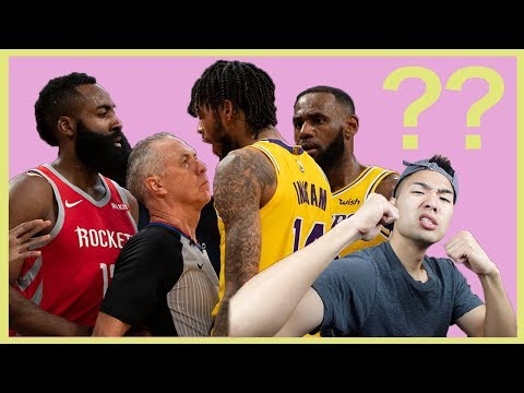 【NBA】謎だらけの乱闘 ロケッツ VS レイカーズ