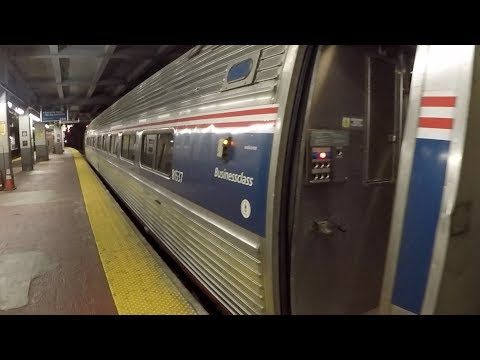 Rail Report Amtrak Northeast Regional Business Class - New York to Washington