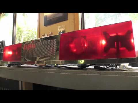 Sireno fire truck light bar demo youtube sireno fire truck light bar demo aloadofball Gallery
