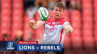 Lions v Rebels | Super Rugby 2019 Rd 5 Highlights